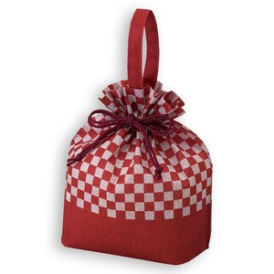 Japanese Pattern Pouch Checkered
