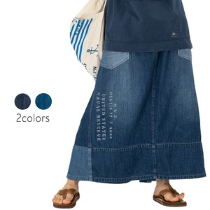 S/S Denim Remake Skirt
