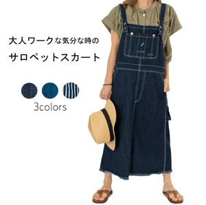 S/S Denim Hickory Pet One-piece Dress