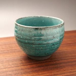 ブルー粉引 ミニ抹茶碗 美濃焼(日本製)