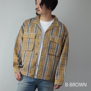 [ 2020NewItem ] Cover All Men's Checkered Work Jacket Shirt Jacket Fashion Book