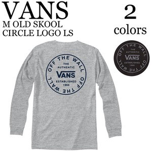 《即納》VANS《2020春夏新作》■長袖 Tシャツ■M OLD SKOOL CIRCLE LOGO LS