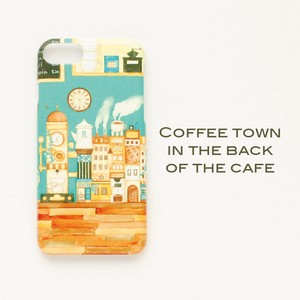 Hard Smartphone Case Cafe Coffee iPhone Each Type Dream Hard Case