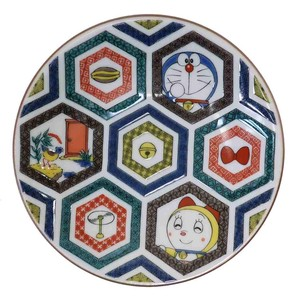 Doraemon KUTANI Ware Mini Dish Antique Painting Style Series Kokutani/Kikko