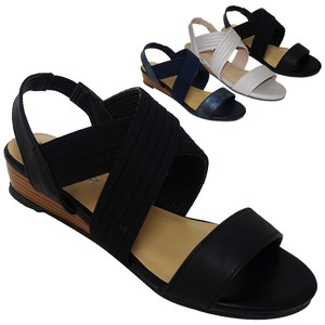 Sandal Elastic Belt Attached Ankle Strap Sandal Edge