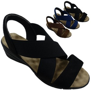 Sandal Light-Weight Closs Elastic Belt Sandal Casual