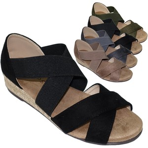 Sandal Closs Belt Wedged Sandal