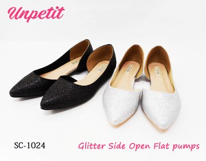 Admission Admission Party Glitter Flat Open Pumps SC