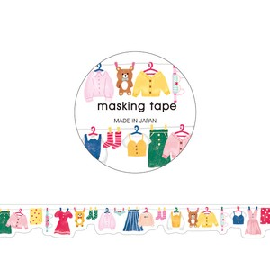 Washi Tape Die Cut Laundry