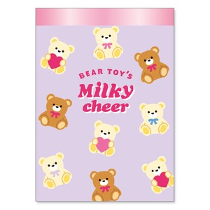 Memo Pad cheer Bear