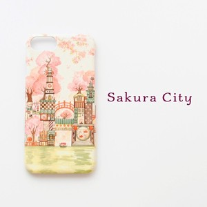 Hard Smartphone Case Sakura iPhone Each Type Dream Hard Case