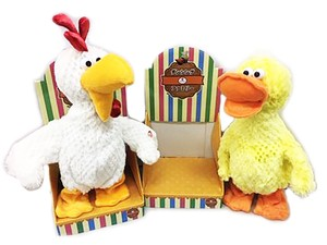 Family Soft Toy Toy Chiken Duck