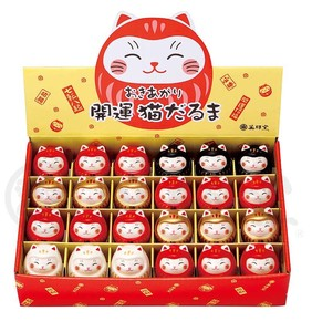 Rising Good Luck Cat Daruma Display Set