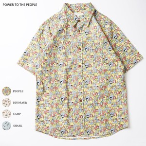 [ 2020NewItem ] Short Sleeve Repeating Pattern Shirt