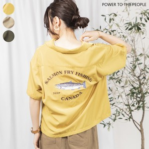 """2020 New Item"" FISH Embroidery Shirt"