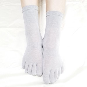 Smooth Fit Silk 5fingers Socks 4 Colors