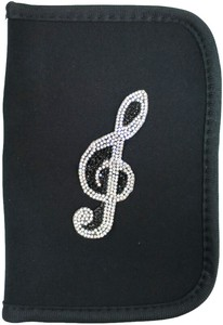 Medicine Notebook Case Treble Clef