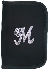 Medicine Notebook Case Initial Flower