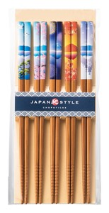 Chopstick Fuji Four Seasons Wakasa Paint Chopstick