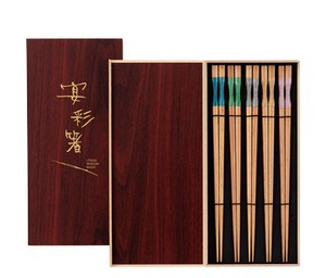 Chopstick Wood Grain Kokeshi Zen Chopstick