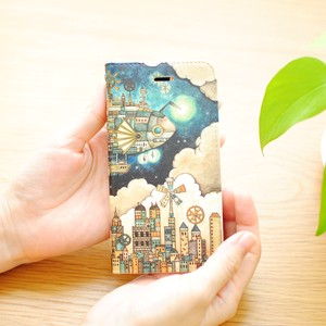 Inside Design iPhone Notebook Type Case Belt Dream