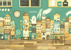 Poster Cafe Coffee Dream