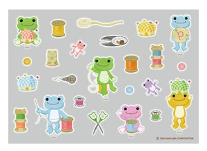 Frog Pickles Iron Sticker