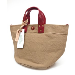 Made in Japan Canvas Italy Cow Leather Bag Handbag