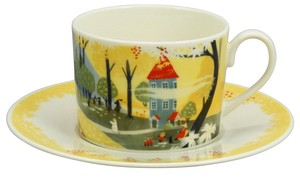 The Moomins Nature Cups & Saucer The Moomins House