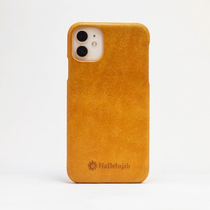 iPhone Yellow Smartphone Case Italian Leather Men's Ladies Yellow