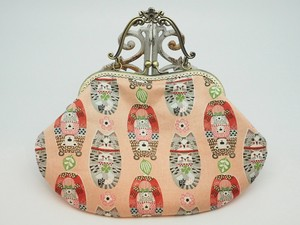 Feeling Coin Purse Bag Base Maniella Cat