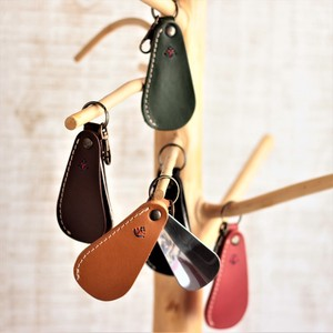 Cover Attached Shoe Key Ring