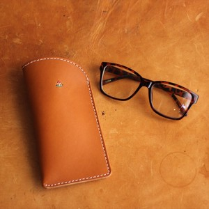 Felt Lining Attached Eyeglass Case