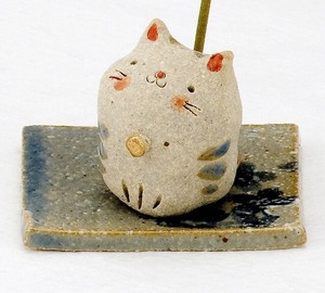 Ornament Handmade Incense Cat Ornament