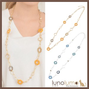 Necklace Long Necklace Ladies Metal Gold Silver Casual Yellow