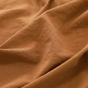 Fabric Plain Half Linen Bio Gold Brown Unit