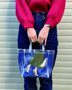 Tote Attached Clear Bag