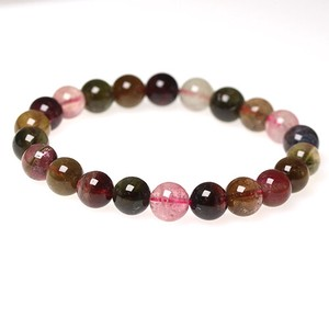 Natural stone High Quality Multi Tourmaline Bracelet