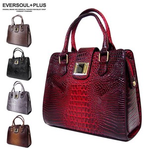 Real Texture Crocodile Push Cenesthesia Leather Mini Pouch Attached Handbag