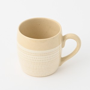 HASAMI Ware Brush Painting Cup Ivory