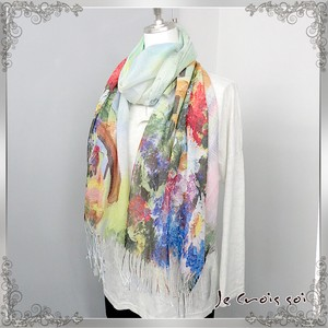 """2020 New Item"" Print Photography Print Stole Thin Synthetic Polyester Material"