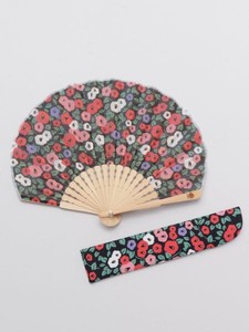 [ 2020NewItem ] Design Retro Folding Fan Bag Attached