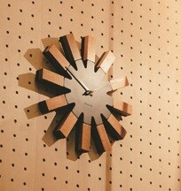 Wall Clock Wall Clock Modern Design Natural