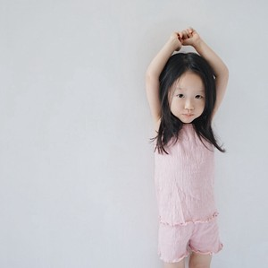 Korea Fashion Korea Children's Clothing S/S Children's Clothing Top 30cm
