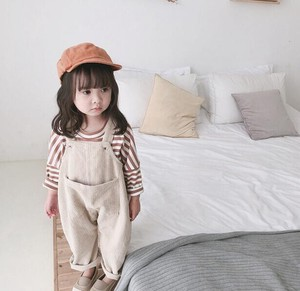 Korea Fashion Korea Children's Clothing Overall CORDUROY S/S Children's Clothing
