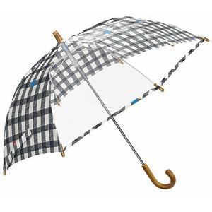 mikuni(ミクニ) 子供用 長傘 Kids Umbrella ギンガム
