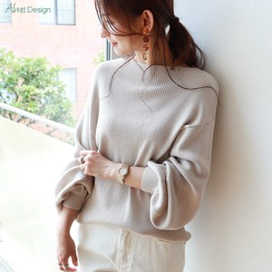 Cotton boat Neck Knitted Top