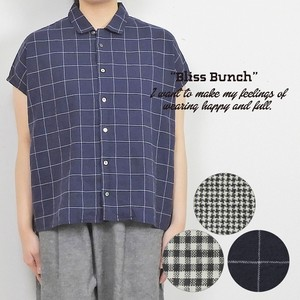 [ 2020NewItem ] Shearing Checkered Open Color Shirt French
