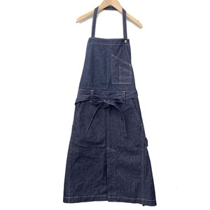 [ 2020NewItem ] cocora Inter Apron Denim