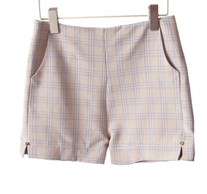 Lady Checkered Shorts